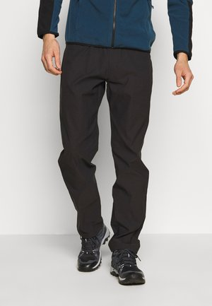 MENS SPRAG 5 POCKET PANT - Tygbyxor - black
