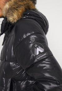 Superdry - HIGH SHINE TOYA  - Winter jacket - black - 5