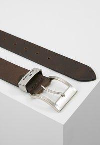 TOM TAILOR - Belt business - dark brown - 2