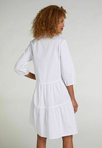 Oui - Shirt dress - optic white - 2