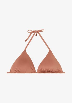 MIT VERSCHIEBBAREN CUPS INDONESIA ECO - Bikini top - indian brown