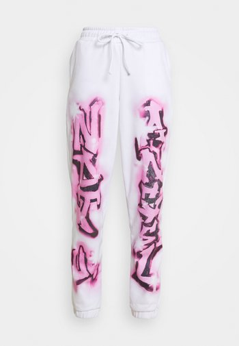 NOT YOUR PRINT JOGGERS - Joggebukse - pink