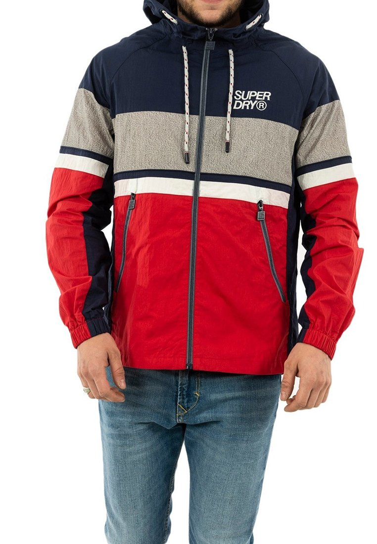 Superdry - Light jacket - bleu