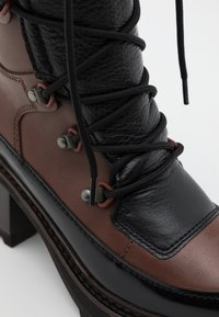 See by Chloé - Lace-up ankle boots - brown - 6