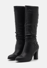 Wallis Wide Fit - WIDE FIT WILD - Boots - black - 2