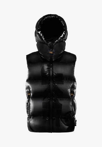 PRIME SLICK - Waistcoat - black