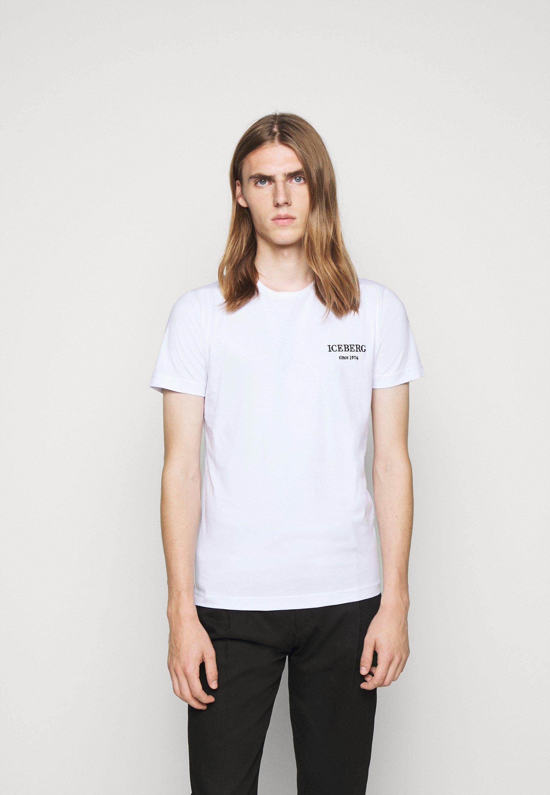 Iceberg T shirt print bianco ottico Zalando.nl