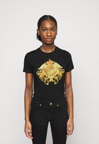Versace Jeans Couture - T-shirt print - black - 0