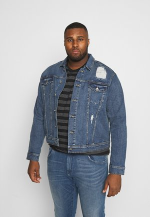 PUCK JACKET - Denim jacket - penny blue