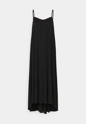 SLFFINIA MIDI STRAP DRESS - Maxi šaty - black