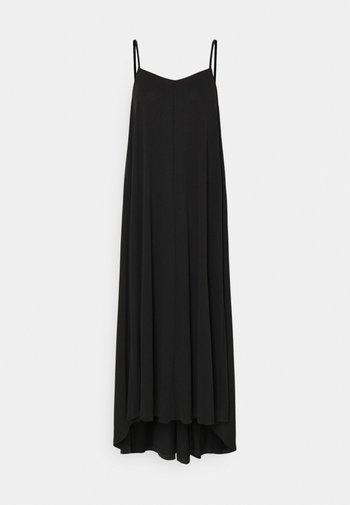 SLFFINIA MIDI STRAP DRESS - Maxi dress - black