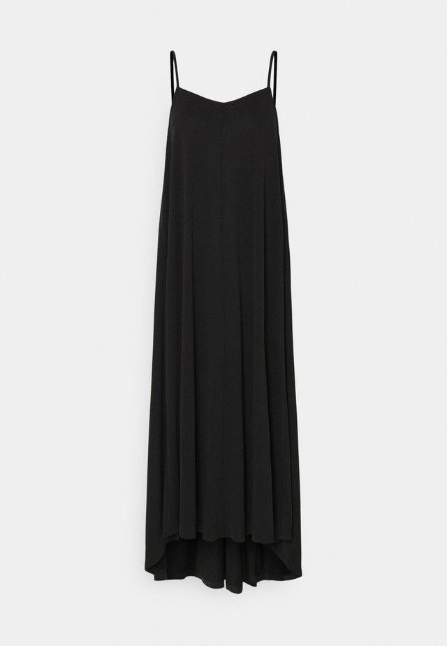 SLFFINIA MIDI STRAP DRESS - Maxi-jurk - black