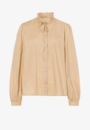 BELLA - Button-down blouse - silver fern