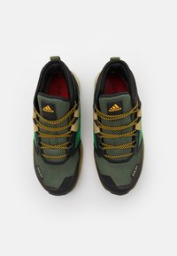 adidas Performance - TERREX TRAILMAKER MID R.RDY UNISEX - Hiking shoes - wild pine/vivid green/vivid red - 3