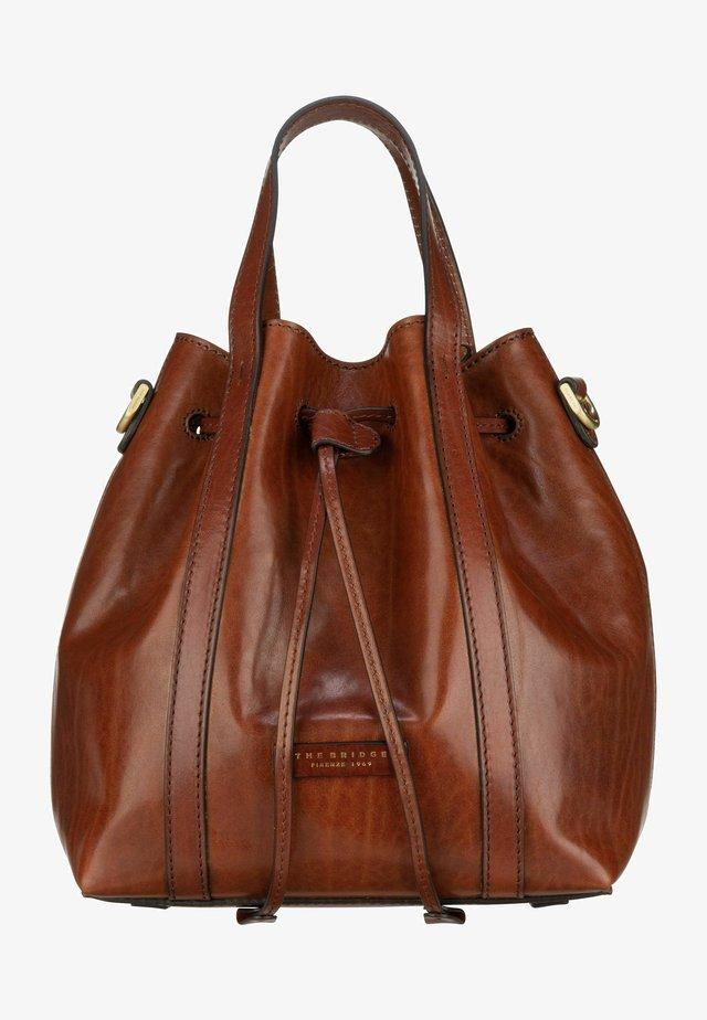 VITTORIA  - Handbag - marrone/oro