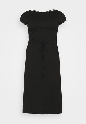 CARAPRIL LIFE STRING DRESS - Jersey dress - black