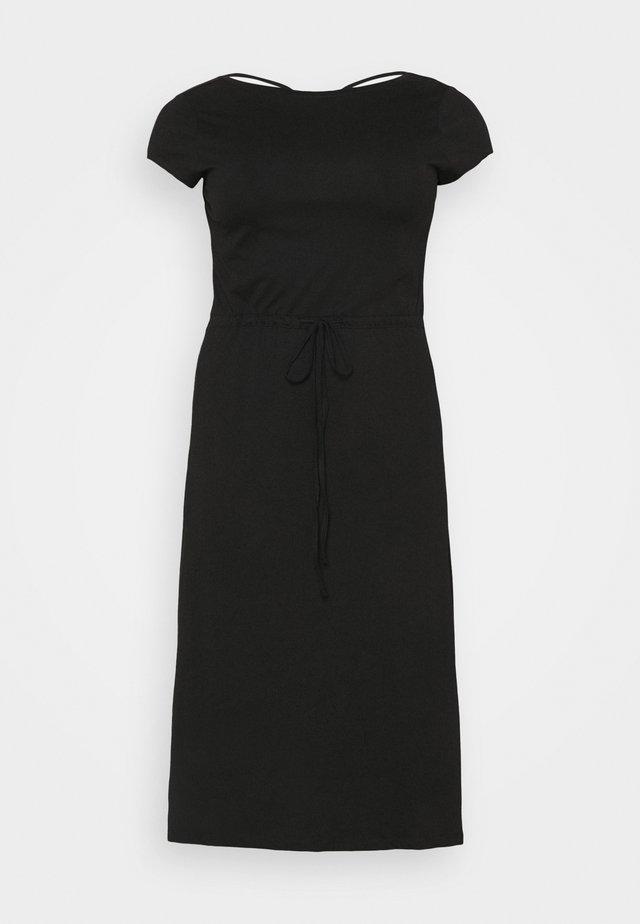 CARAPRIL LIFE STRING DRESS - Robe en jersey - black