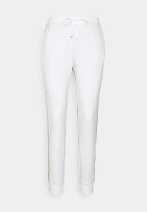 PANT - Trousers - bianco/silver