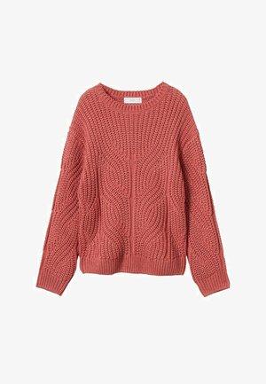 Pullover - bleekroze