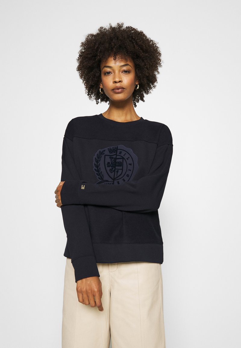 Tommy Hilfiger - ICON GRAPHIC - Sweatshirt - desert sky