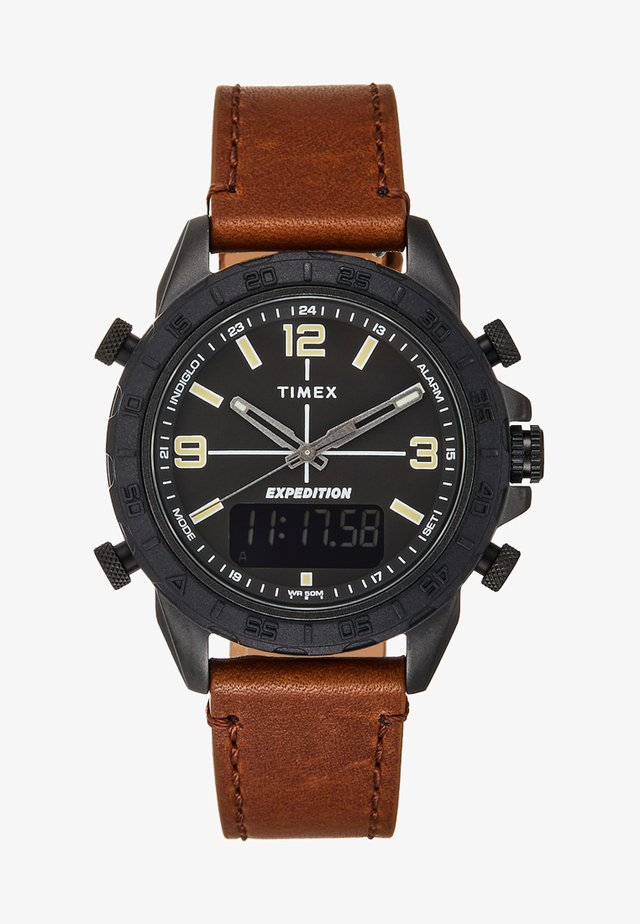 EXPEDITION PIONEER COMBO - Zegarek - brown