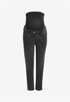 MATERNITY  - Straight leg jeans - black denim