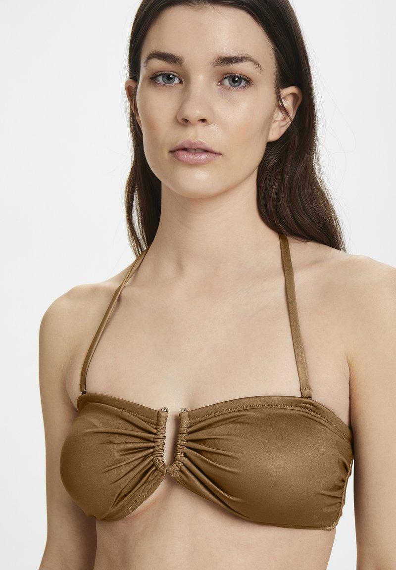 Gestuz - CANAGZ - Bikini top - toffee