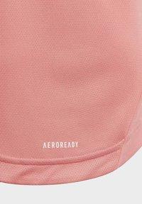 adidas Performance - AEROREADY BOLD  - Camiseta estampada - pink - 2