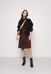 ONLY - ONLZILLE SMOCK DRESS - Jersey dress - port royale - 1