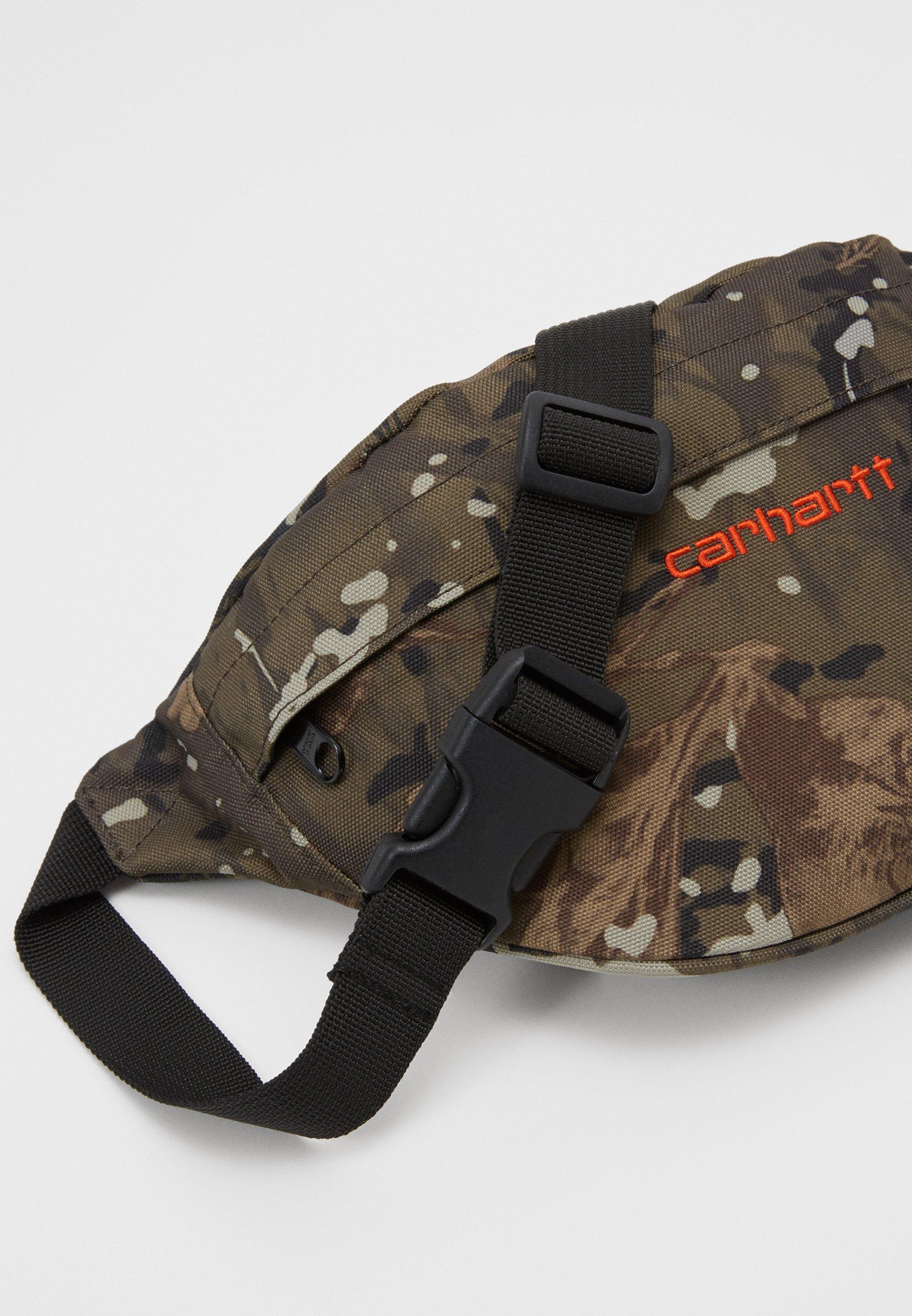 Carhartt WIP PAYTON HIP BAG - Rumpetaske - camo combi/safety orange/oliven l1ne5Vo8BEL8ncu