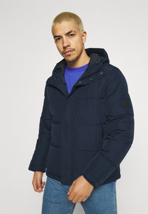BASIC PUFFER - Vinterjakke - dark blue