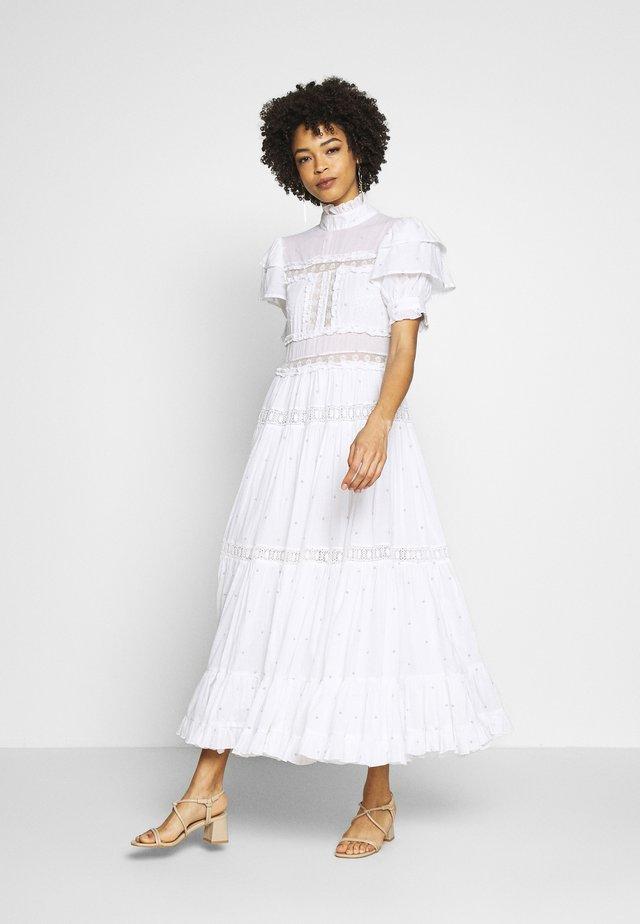 IRO DRESS - Maxikjole - white