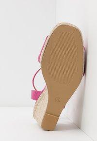Head over Heels by Dune - KAIRI - Sandaler med høye hæler - fuschia - 6