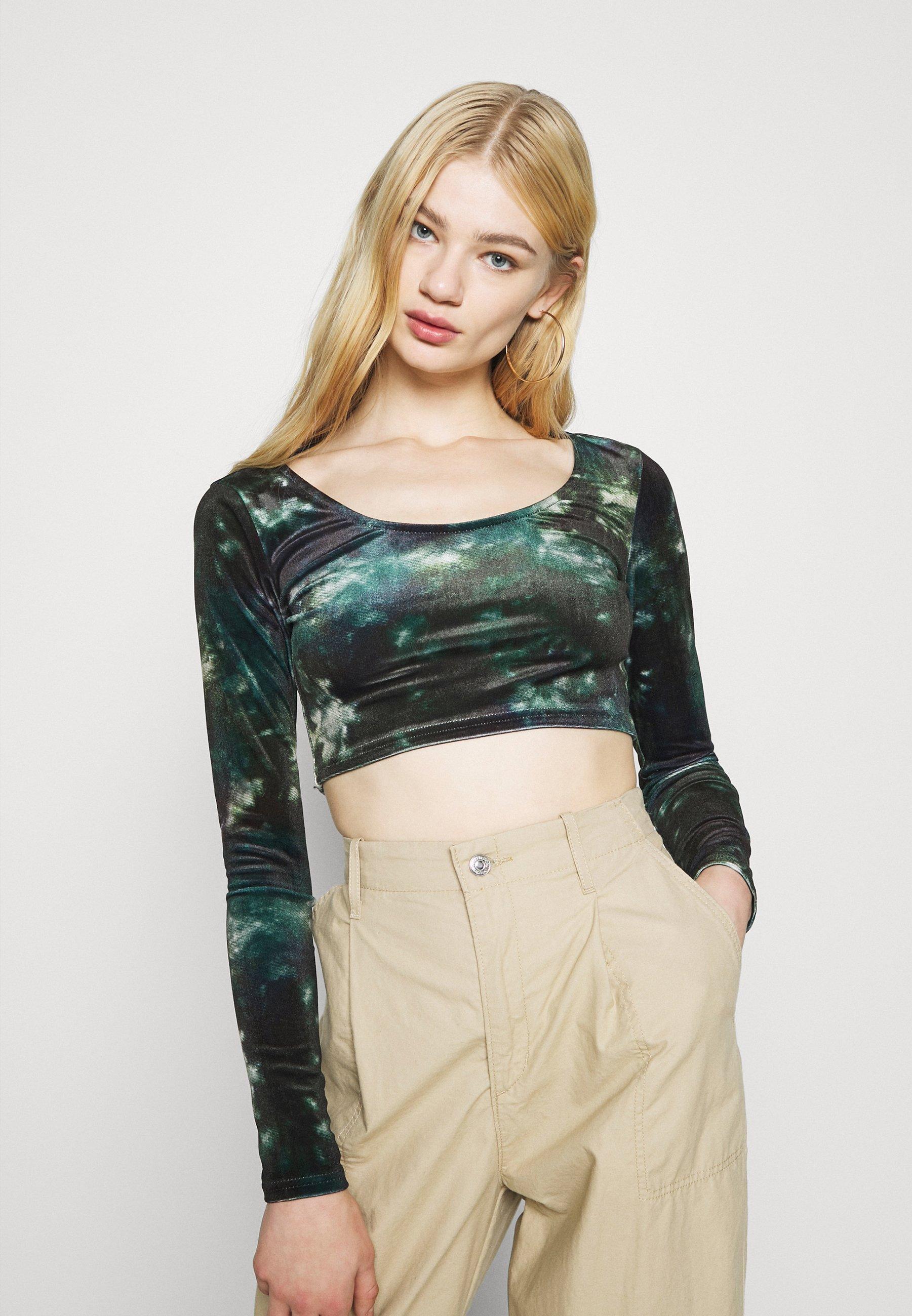 Women CROP - Long sleeved top