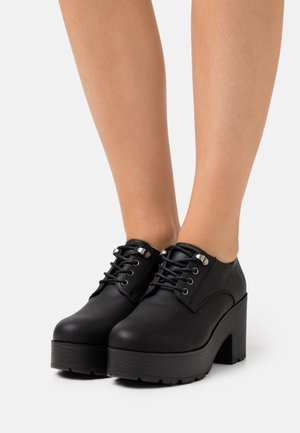 EMELINE - Lace-up heels - black