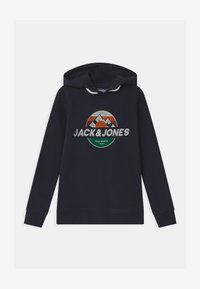 Jack & Jones Junior - JORDOHSEL HOOD - Sweatshirt - navy blazer - 0