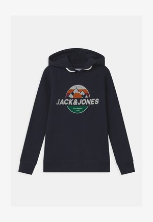 JORDOHSEL HOOD - Sweatshirt - navy blazer