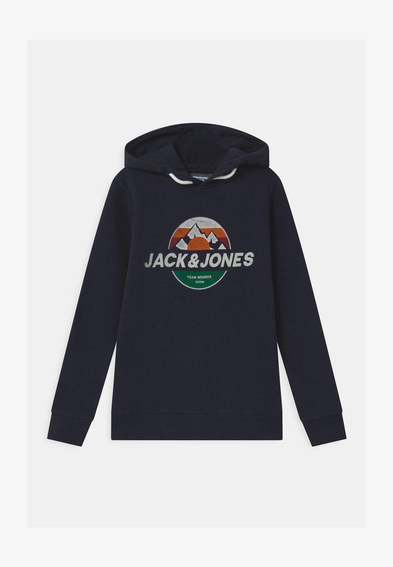 Jack & Jones Junior - JORDOHSEL HOOD - Sweatshirt - navy blazer