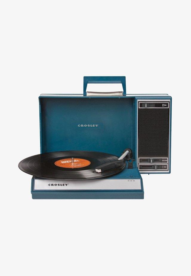 PLATTENSPIELER SPINNERETTE - Record player - blau