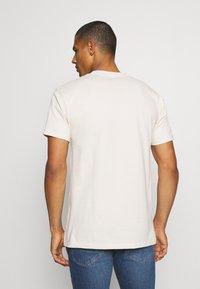 Obey Clothing - ICON RUN - Printtipaita - cream - 2