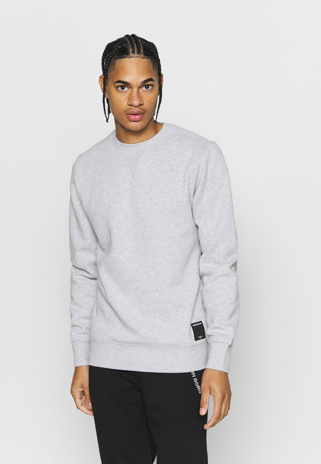 CENTRE CREW - Sweatshirt - light grey melange