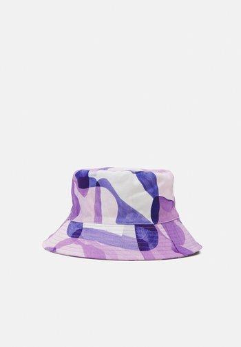 BUCKET HAT PRINT UNISEX - Hat - purple