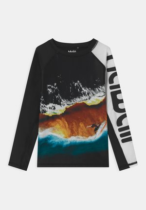 NEPTUNE - Rash vest - multi-coloured/black