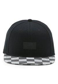 Vans - MN ALLOVER IT - Keps - black white checker - 2