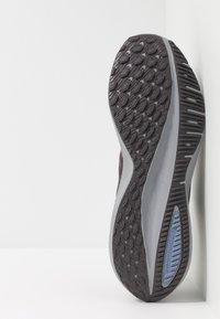 Nike Performance - AIR ZOOM VOMERO 14 - Neutral running shoes - thunder grey/black/stellar indigo/gunsmoke/atmosphere grey/light blue - 4