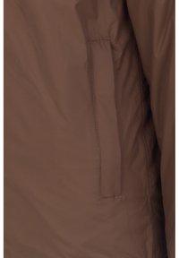 K-Way - Down jacket - brown-blue maritime - 4