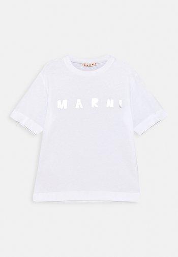 MAGLIETTA UNISEX - Print T-shirt - white