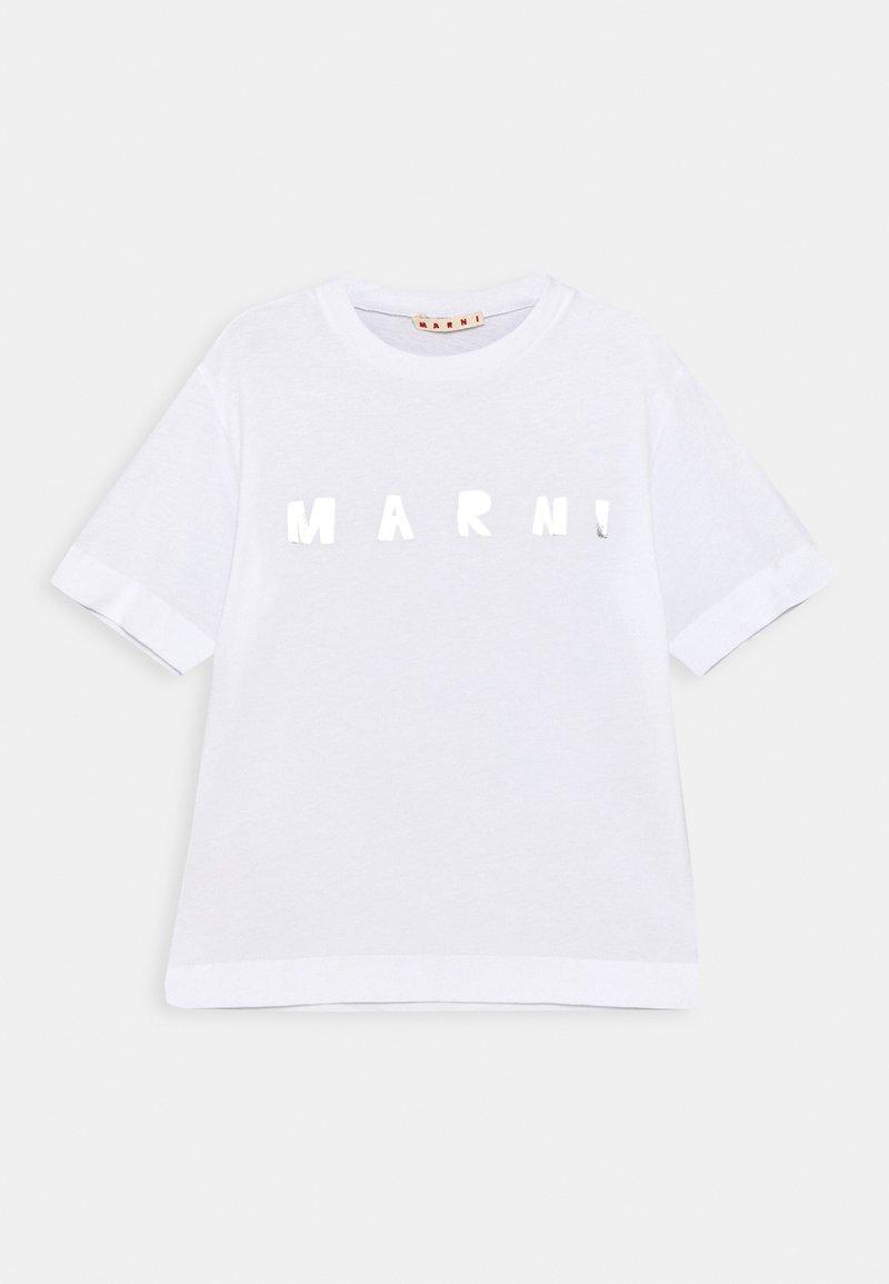 Marni - MAGLIETTA UNISEX - Print T-shirt - white