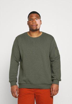 BRENT CREW - Sweatshirt - sage