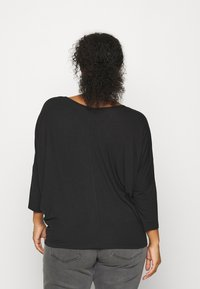Anna Field Curvy - Long sleeved top - black - 2
